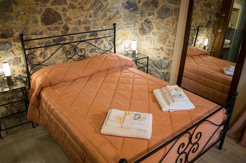 Camera Il Paggetto dell'albergo diffuso Ca' del Grano