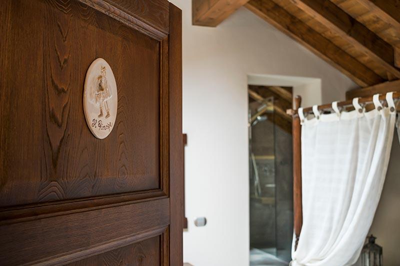The Prince room of Ca' del Grano Bardi