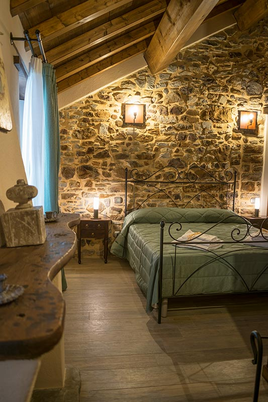 Double room of the widespread hotel of Parma