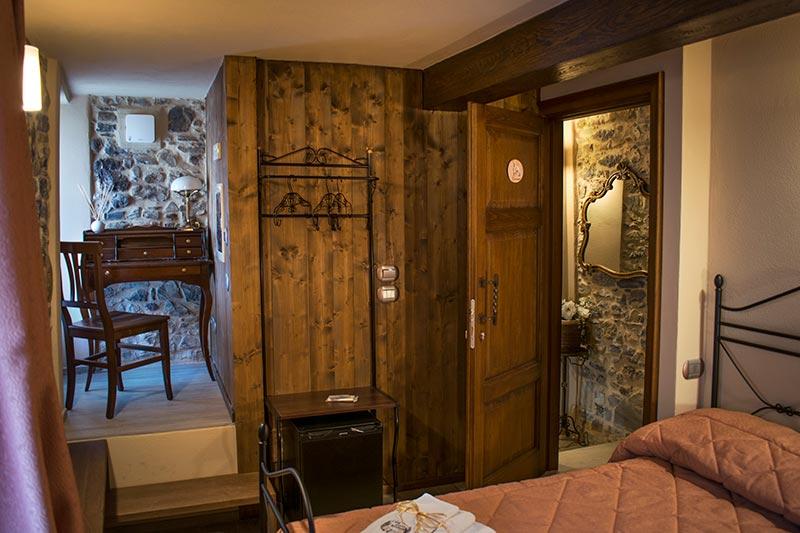 Double bedroom of Ca' del Grano Bardi