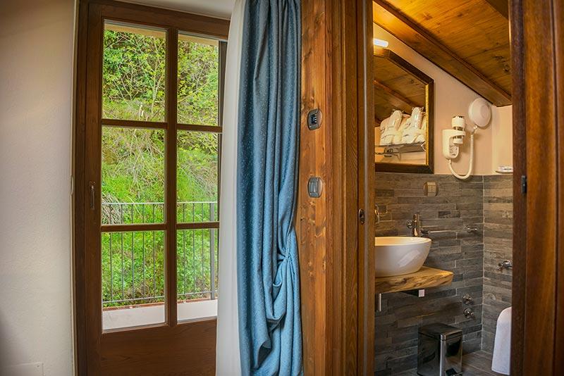 Camera con bagno Il Giullare di Ca' del Grano