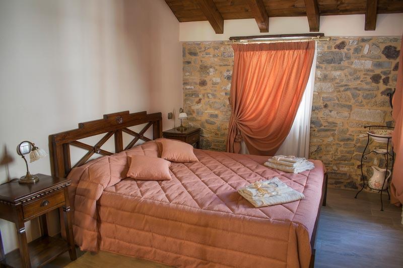 Camera matrimoniale La Principessa dell'Albergo Diffuso Ca' del Grano