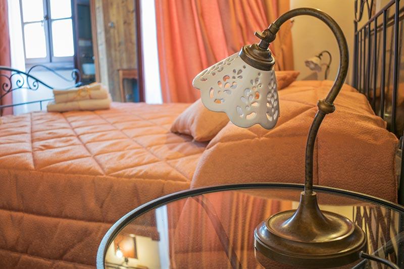 Camera dell'albergo diffuso Ca' del Grano Parma