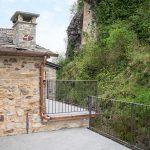 Bardi castle view from the terrace of Ca' del Grano