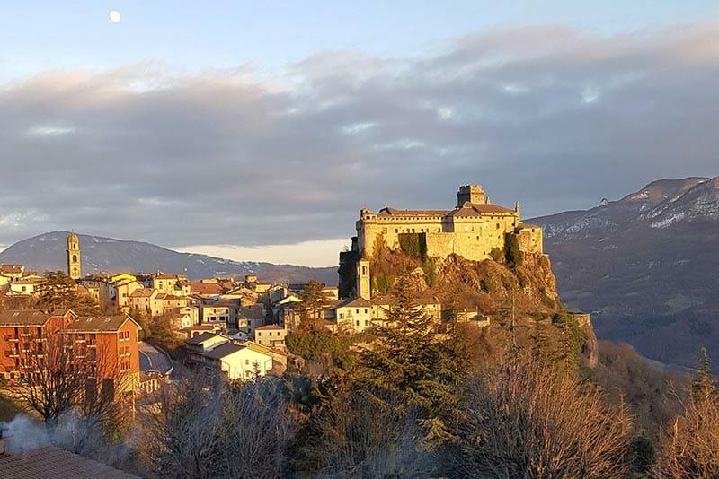 Castello di Bardi nella provincia di Parma