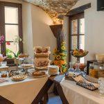 colazione a buffet dell'albergo diffuso Ca' del Grano Parma