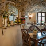 Sala bar e colazioni di Ca' del Grano Bardi
