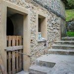Works at La Grotta Room of Ca' del Grano of Bardi