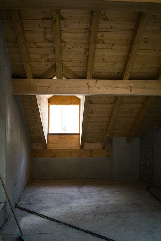 Il Principe Room of the widespread hotel Ca' del Grano under contruction