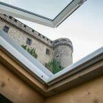 Castello di Bardi dall'albergo diffuso Ca' del Grano