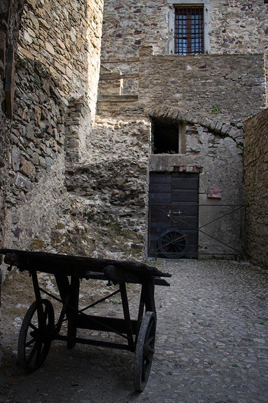 Il castello medievale di Bardi