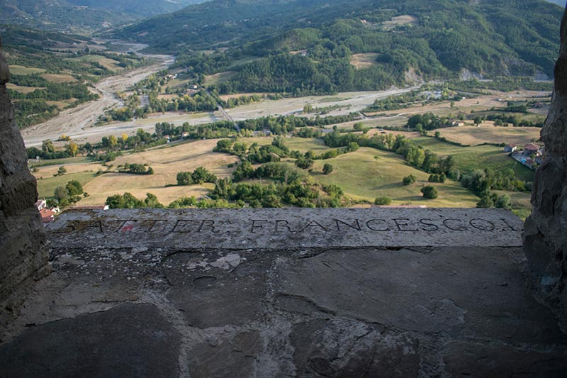Ceno Valley from the castle